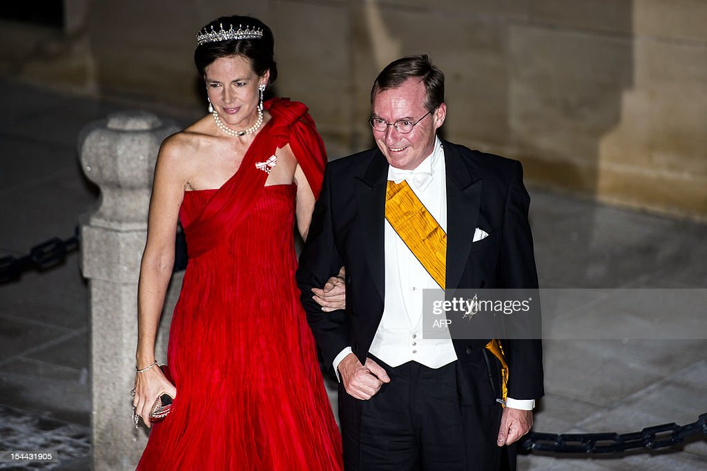 LUXEMBOURG-BELGIUM-ROYALS-WEDDING : News Photo
