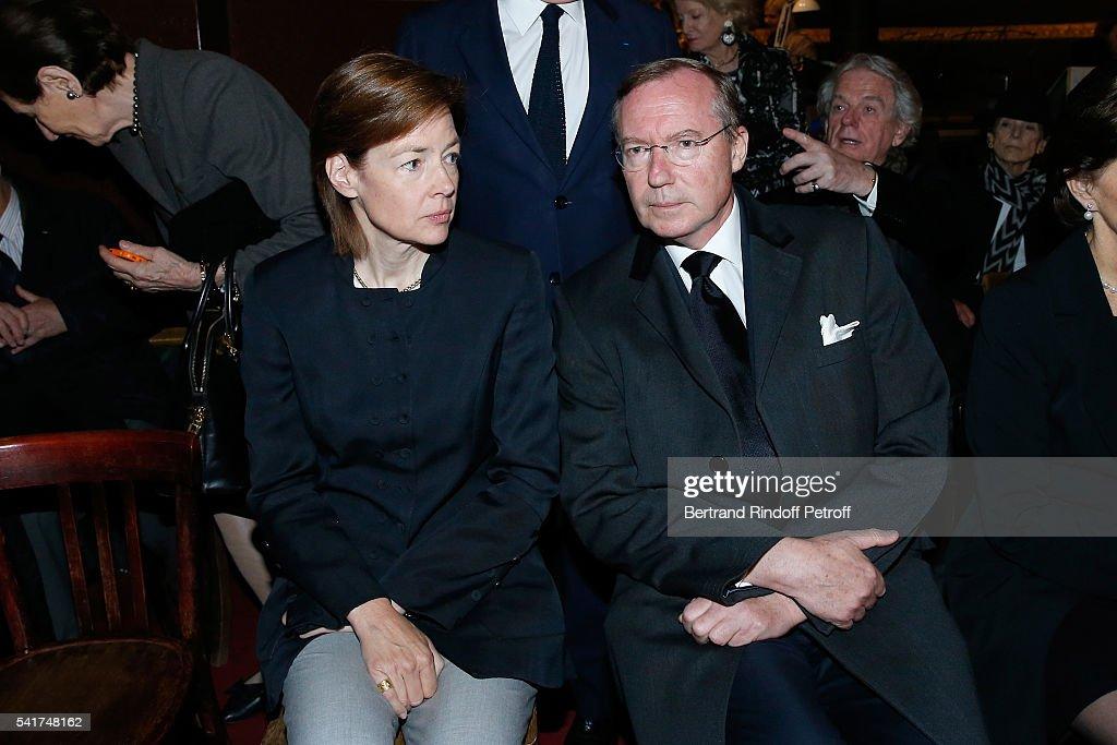 "Mass In Memory Of ""S.A.R. Le Prince Alexandre De Yougoslavie"" In Paris : News Photo"