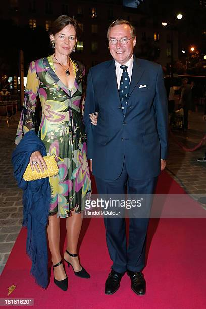 Prince Jean Of Luxembourg and his wife Countess Diane de Nassau attend the 'IFRAD' Gala at Cirque D'Hiver In Paris on September 25 2013 in Paris...