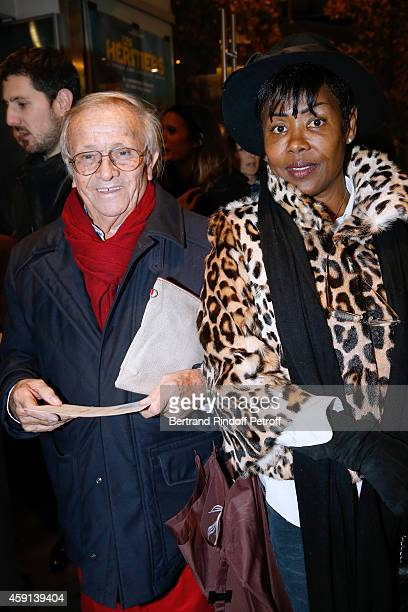 Prince Jean Poniatowski and Dolores Guibert attend 'Les Heritiers' receives Cinema Award 2014 of Foundation Diane Lucien Barriere during the premiere...