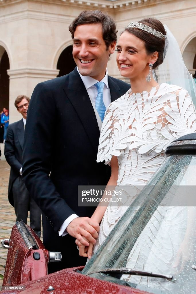 FRANCE-ROYALS-MARRIAGE : News Photo