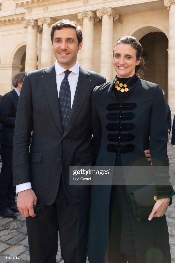 Prince Jean-Christophe Napoleon Attends The Mass Given In Memory Of The Emperor Napoleon At Les Invalides : News Photo