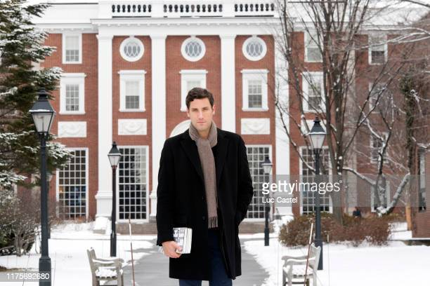 Prince JeanChristophe Napoleon at Harvard university on February 1 2017 in Cambridge Massachussets