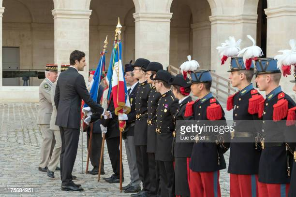 Prince JeanChristophe Napoleon attend the mass given in memory of the emperor Napoleon at Les Invalides on may 05 2017 in Paris France