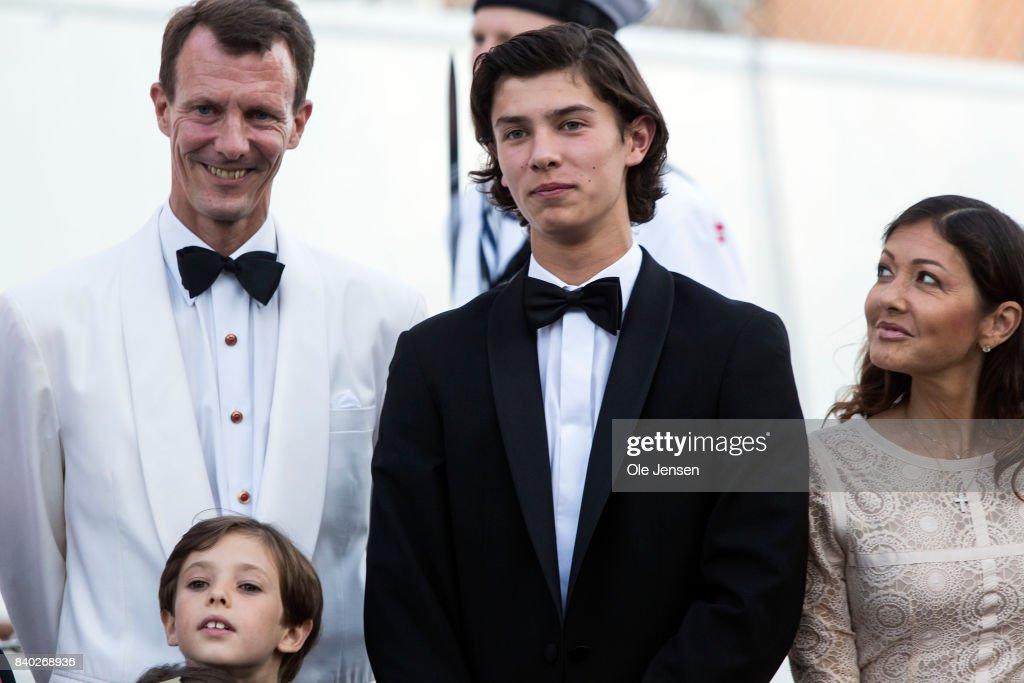 Prince Nikolai Of Denmark Celebrates His 18th Birthday At The Royal Ship Dannebrog : News Photo