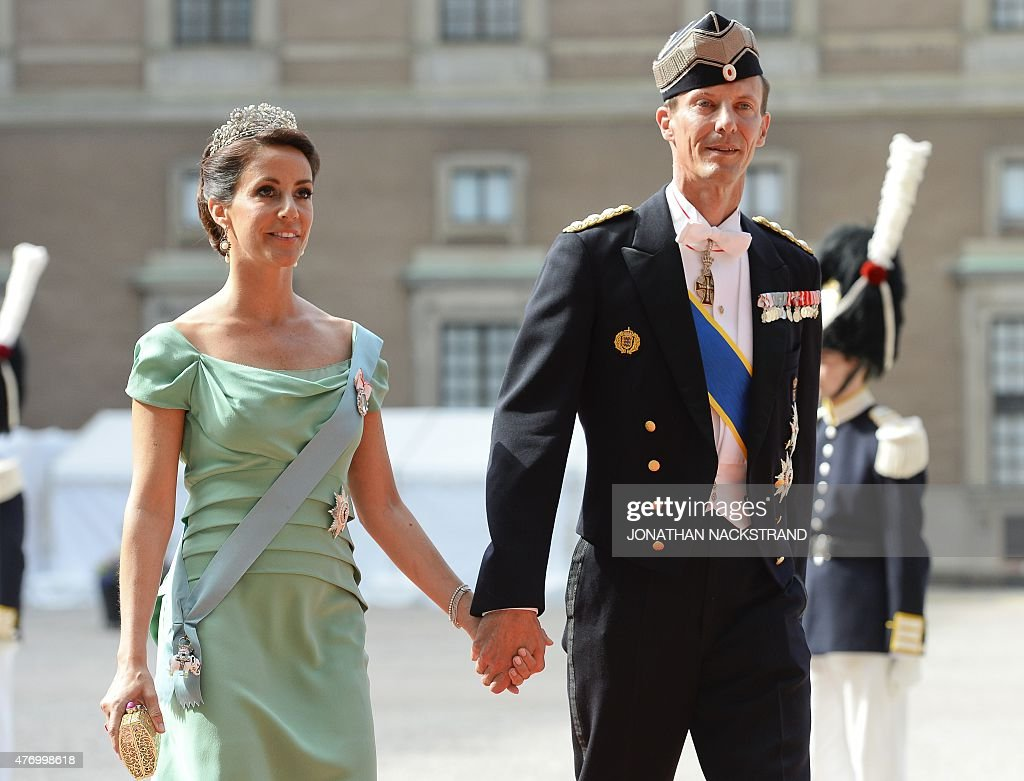 SWEDEN-ROYAL-WEDDING-ARRIVALS : News Photo