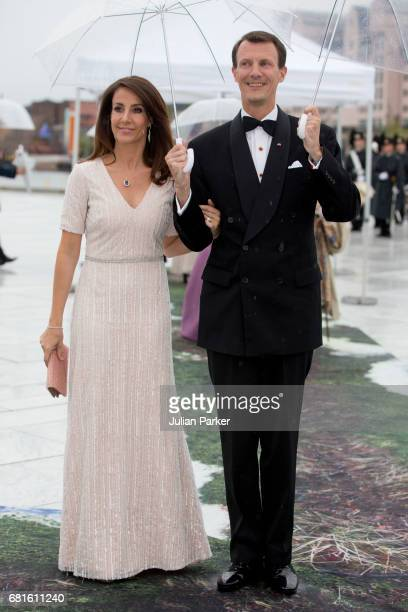 Prince Joachim and Princess Marie of Denmark attend a Gala Banquet hosted by The Government at The Opera House as part of the Celebrations of the...