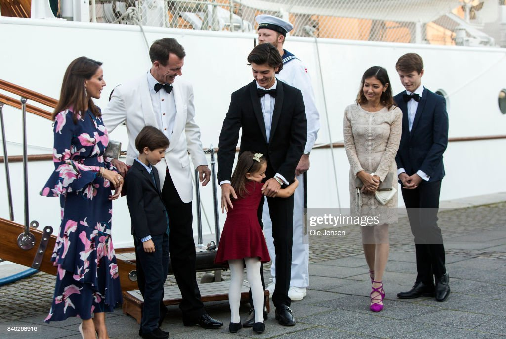 Prince Nikolai Of Denmark Celebrates His 18th Birthday At The Royal Ship Dannebrog : News Photo