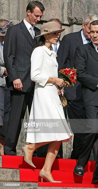 Prince Joachim Crown Princess Mary Attend The Opening Of The Danish Parliament In Copenhagen