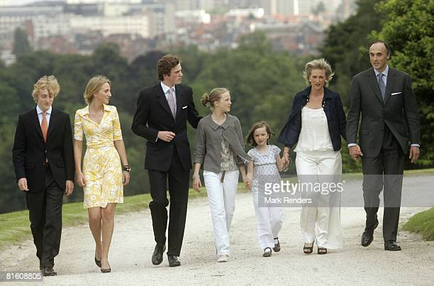 Prince Joachim of Belgium Princess Maria Louisa of Belgium Prince Joachim of Belgium Princess Luisa Maria of Belgium Princess Laetitia Maria of...