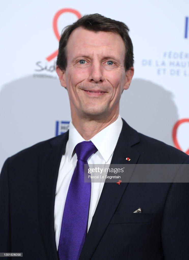 Sidaction Gala Dinner 2020 At Pavillon Cambon In Paris : News Photo
