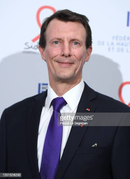 Prince Joachim of Danemark attends Sidaction Gala Dinner 2020 At Pavillon Cambon on January 23, 2020 in Paris, France.