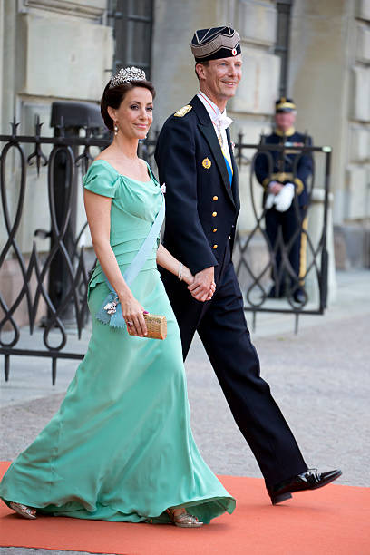 Prince Joachim and Miss Marie Cavallier - Wedding Photos and Images ...