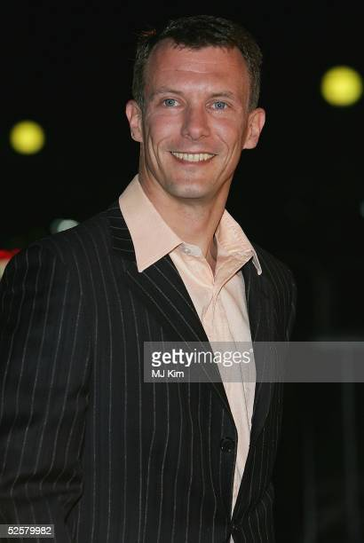 Prince Joachim of Denmark arrives at the Once Upon A Time gala performance, the main event of the Hans Christian Andersen Bicentenary Celebrations,...