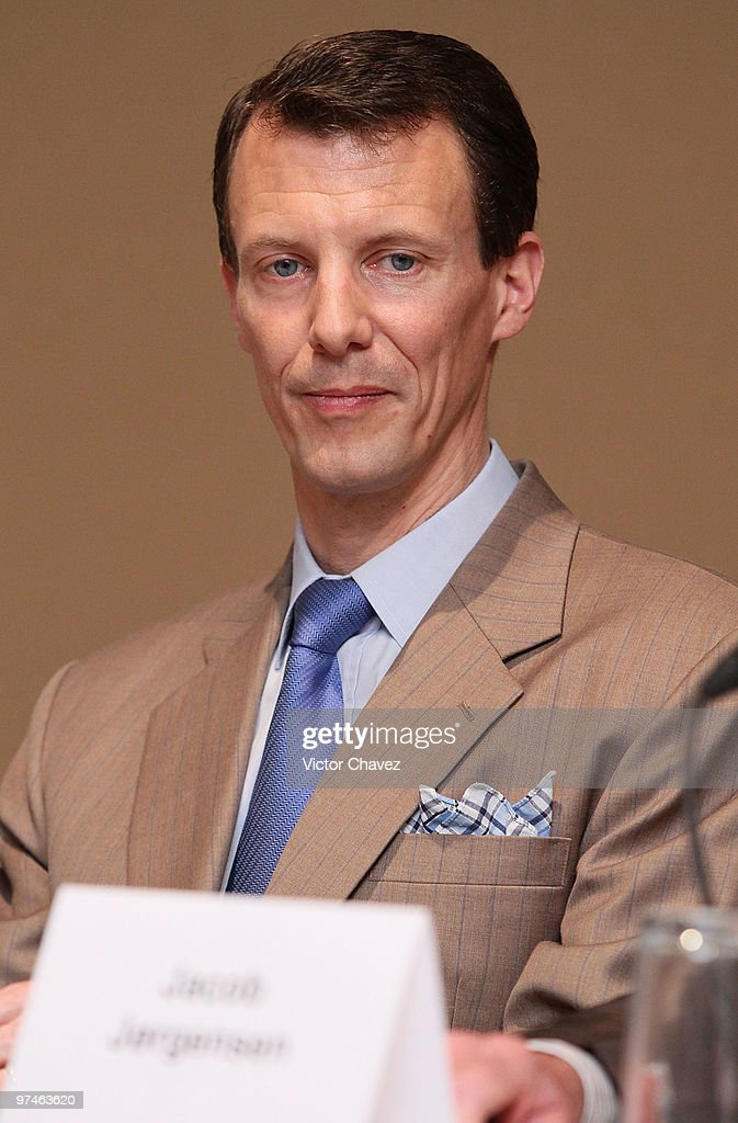 Prince Joachim And Princess Marie Of Denmark Visit Mexico - Day One : Nachrichtenfoto