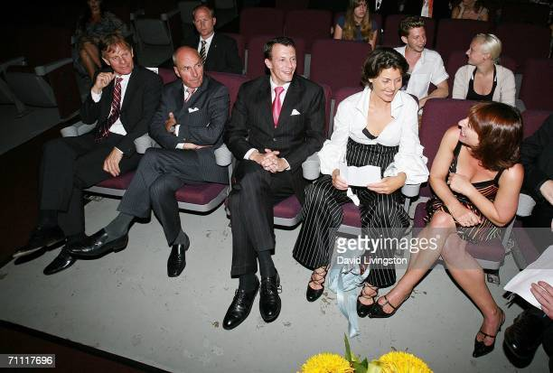 Prince Joachim of Denmark , festival co-founder Lene Pels Jorgensen and director Susanne Bier attend the Danish Film Fest: LA at the Aero Theatre on...