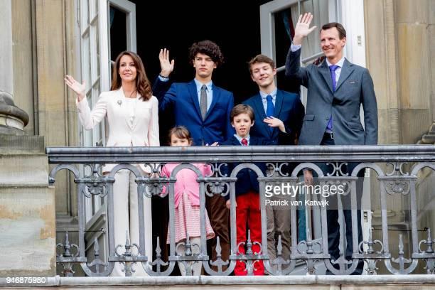Prince Joachim of Denmark, Princess Marie of Denmark, Prince Felix of Denmark, Prince Nikolai of Denmark, Prince Henrik of Denmark and Princess...