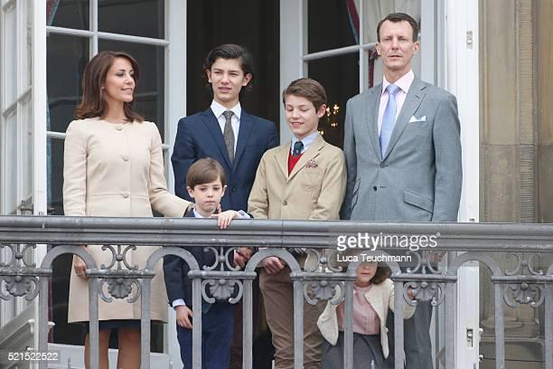 Prince Joachim of Denmark Princess Marie of Denmark Prince Nikolai of Denmark Prince Felix of Denmark Princess Athena of Denmark and Prince Henrik of...