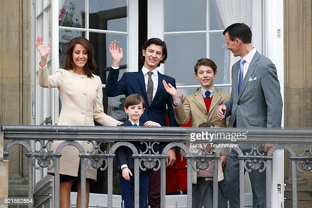 Prince Joachim of Denmark, Princess Marie of Denmark, Prince Nikolai of Denmark, Prince Felix of Denmark, Princess Athena of Denmark, Prince Henrik...