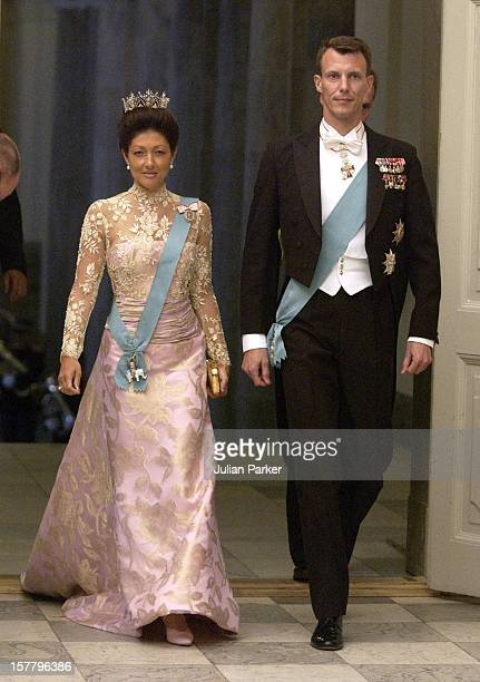 Prince Joachim Princess Alexandra Of Denmark Attend A Gala Dinner At Christiansborg Palace