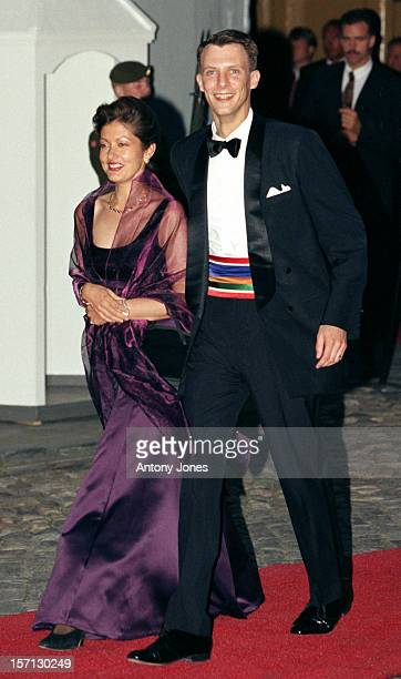Prince Joachim Princess Alexandra Of Denmark Attend King Harald Queen Sonja'S 60Th Birthday Celebrations In NorwayGala Dinner At The Royal Residence...