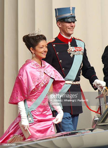 Prince Joachim Princess Alexandra Of Denmark Attend The Wedding Of Crown Prince Frederik Mary Donaldson At The Vor Frue Kirke Catherdal In Copenhagen