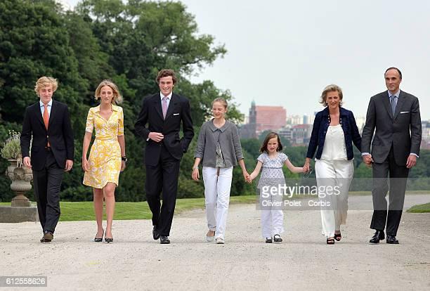 Prince Joachim Princess Maria Laura Prince Amadeo Princess Luisa Maria Princess Laetitia Maria Princess Astrid and Prince Lorenz Princess Mathilde...