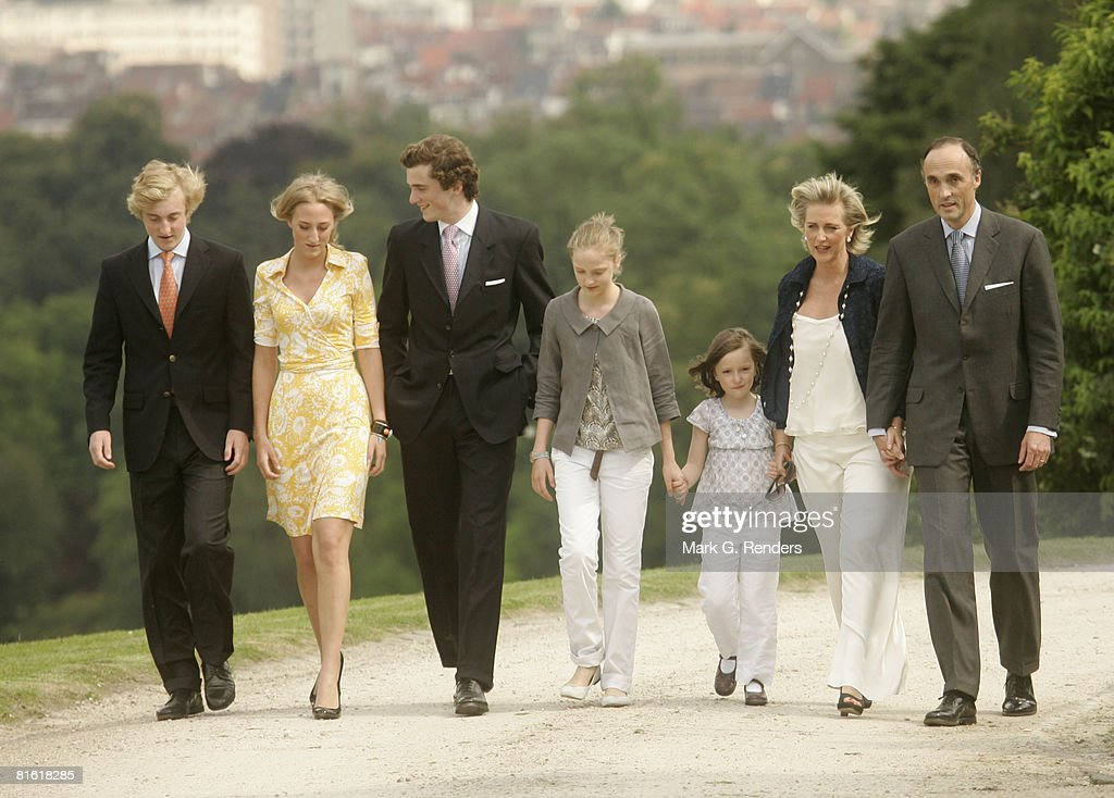 Belgian Royal Family Poses For The Press
