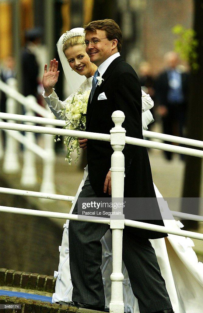 Netherlands: Wedding Of Prince Johan Friso & Mabel Wisse Smit : News Photo