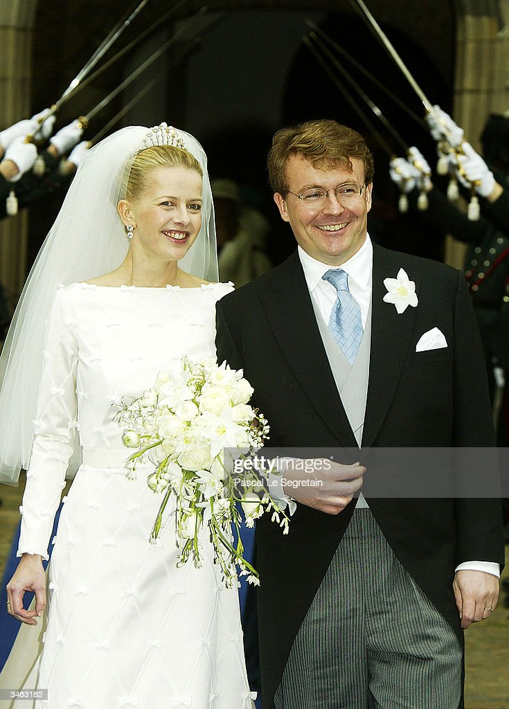 Netherlands: Wedding Of Prince Johan Friso & Mabel Wisse Smit : News Photo