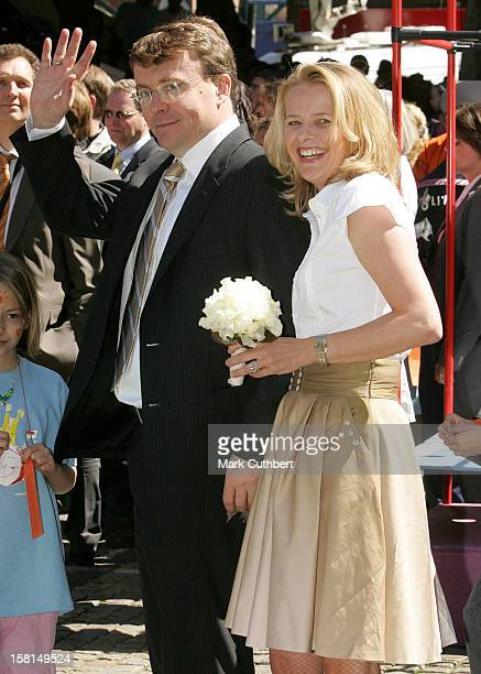 Prince Johan Friso Princess Mabel Visit Hertogenbosch As Part Of The Annual Queen'S Day Celebrations In Holland