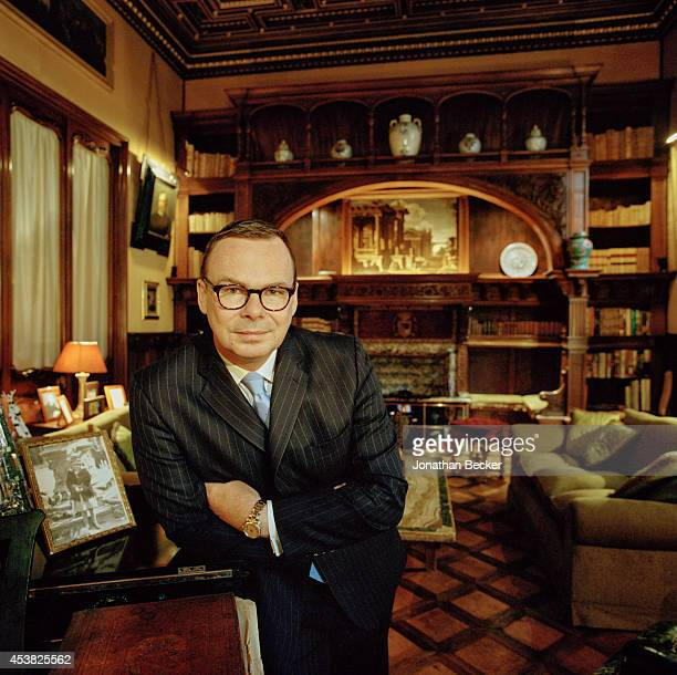 Prince Jonathan Doria Pamphilj is photographed in the smoking room of his private apartment in the palazzo for Vanity Fair Magazine on April 26 2011...