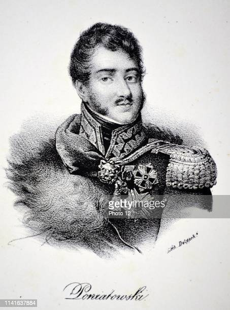 Prince Jozef Poniatowski Polish leader and general Fought for Napoleon on his Russian campaign Created Marshal of France during the Battle of Leipzig...