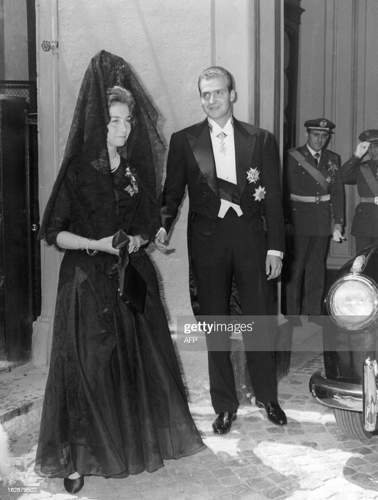 SPAIN-ROYAL FAMILY : News Photo