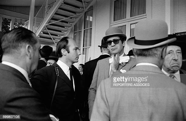 Prince Karim Aga Khan IV At A Horse Race In Paris France Circa 1960