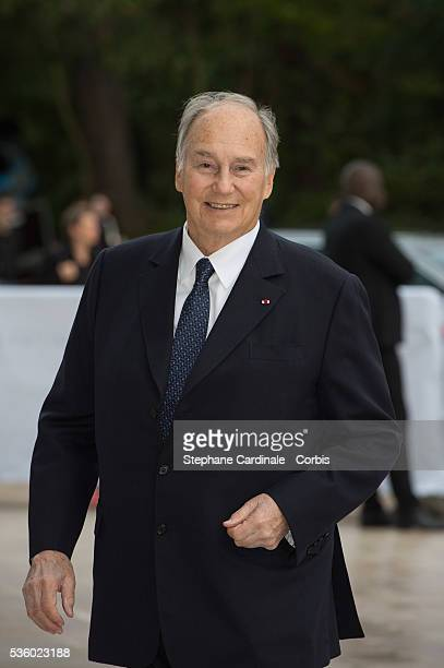 Prince Karim Aga Khan IV attends the Inauguration of the Louis Vuitton Foundation on October 20 2014 in Paris France