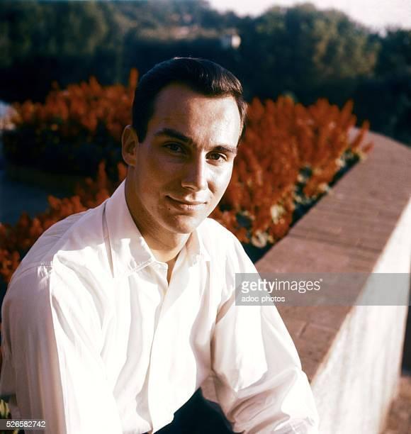 Prince Karim Aga Khan IV spiritual leader of the Nizari Ismailis born in Geneva Ca 1962