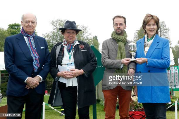 Prince Karim Aga Khan Owner of the Domaine de Courson Helene Fustier Master of the Worshipful Company of Gardeners Margaret Clarissa Holland Prior JP...