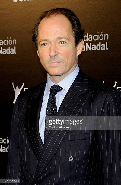 Prince Konstantin of Bulgaria attends 'Rafa Nadal Foundation' Charity Gala at Cibeles Palace on December 22 2010 in Madrid Spain
