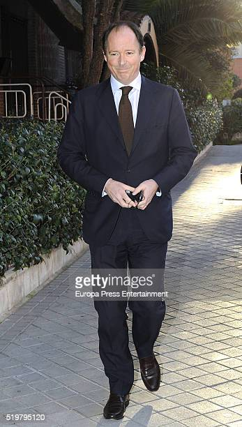 Prince Konstantin of Bulgaria attends the funeral service for Prince Kardam of Bulgaria on the first anniversary of his death at Santos Andres and...