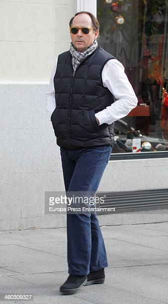 Prince Konstantin of Bulgaria is seen on December 21 2013 in Madrid Spain