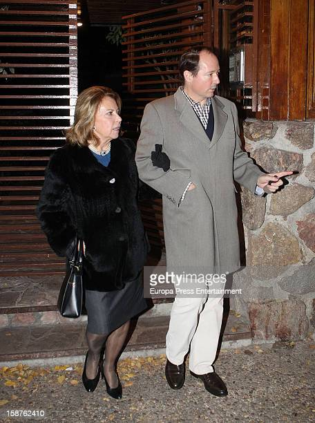Prince Konstantin of Bulgaria visits Prince Kardam of Bulgaria in his 50th birthday on December 2 2012 in Madrid Spain The eldest son of King Simeon...