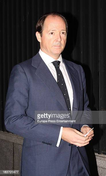 Prince Konstantine of Bulgaria attends a party at USA Embassy on September 30 2013 in Madrid Spain