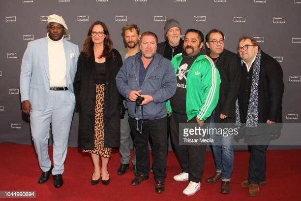 Prince Kuhlmann, Natalia Woerner, Philipp Hochmair, Armin Rohde, Lars Becker, Kailas Mahadewan, Albrecht Ganskopf and Gustav Peter Woehler attend the...