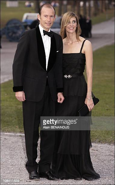 Prince Kyril and Princess Rosario of Bulgaria in Stockholm Sweden on April 29 2006