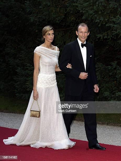 Prince Kyril & Princess Rosario Of Bulgaria Attend The Silver Wedding Anniversary Celebrations Of Grand Duke Henri & Grand Duchess Maria-Theresa Of...