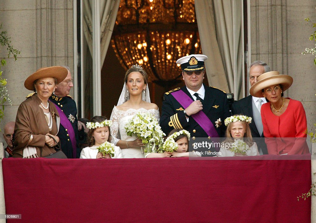 Prince Laurent Of Belgium Marries Claire Coombs : News Photo