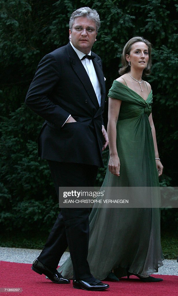 Prince Laurent of Belgium and Princess C : News Photo
