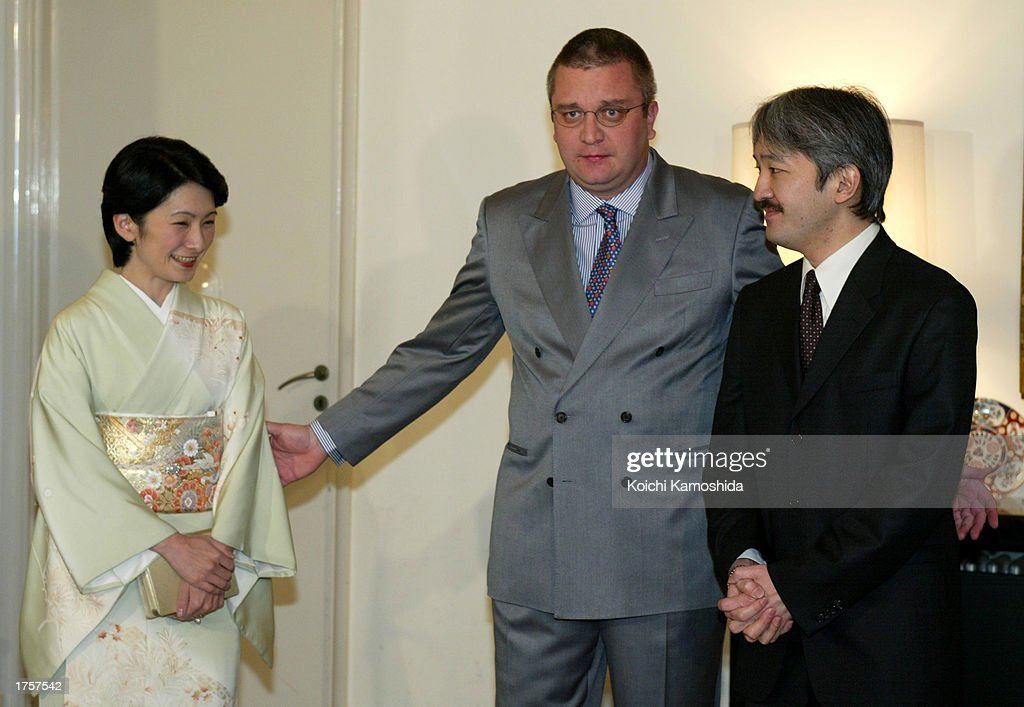Prince Laurent Of Belgium Visits Japan : News Photo
