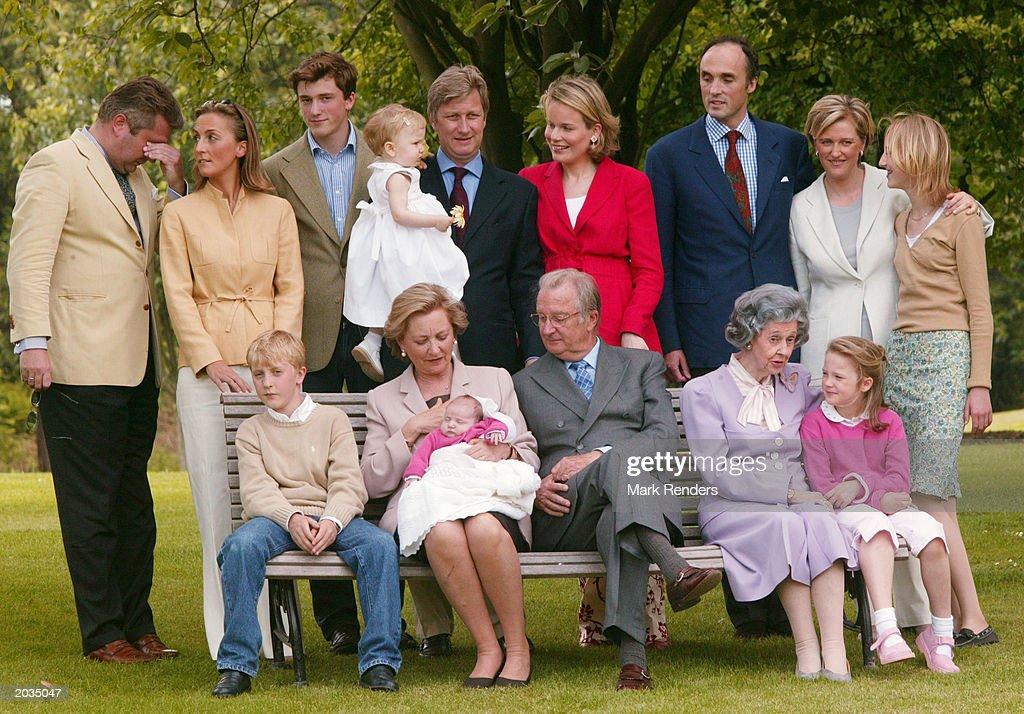 Belgian Royal Family Invite Media For Informal Pictures